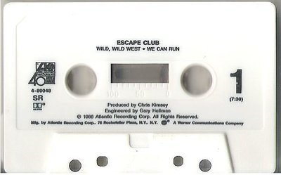 Escape Club / Wild, Wild West / Atlantic 4-89048 | Cassette Single (1988)
