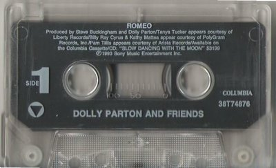 Parton, Dolly / Romeo / Columbia 38T-74876 | Cassette Single (1993)