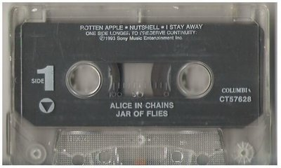 Alice In Chains / Jar of Flies / Columbia CT-57628 | Cassette (1993)