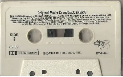 Various Artists / Grease (Original Movie Soundtrack) / RSO CT-2-4002 | Cassette (1978)