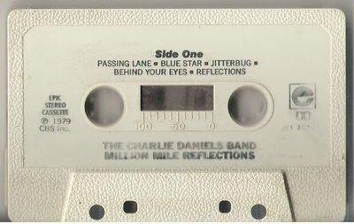 Daniels, Charlie (Band) / Million Mile Reflections / Epic JET-35751 | Cassette (1979)