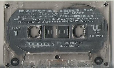 Various Artists / Rapmasters 14 - The Best of the Hype / Priority 4XL-7990 | Cassette (1990)