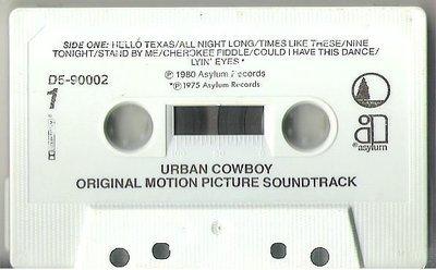 Various Artists / Urban Cowboy (Soundtrack) / Asylum (Full Moon) D5-90002 | Cassette (1980)