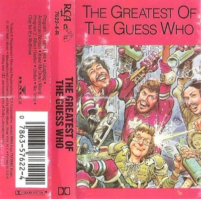 Guess Who, The / The Greatest of The Guess Who / RCA 7622-4-R | Cassette (1988)