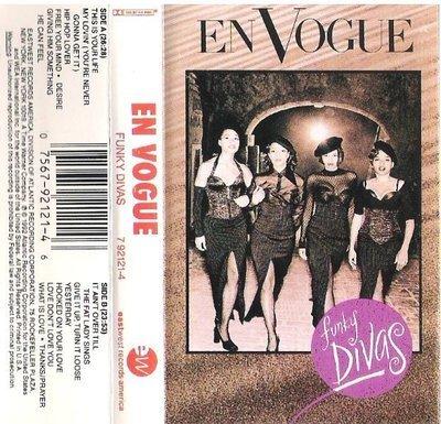 En Vogue / Funky Divas / EastWest 92121-4 | Cassette (1992)