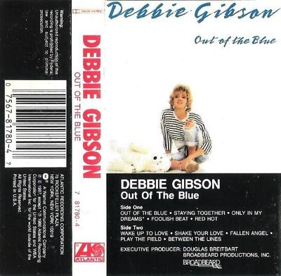 Gibson, Debbie / Out of the Blue / Atlantic 81780-4 | Cassette (1987)