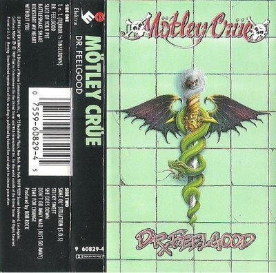 Motley Crue / Dr. Feelgood / Elektra 60829-4 | Cassette (1989)