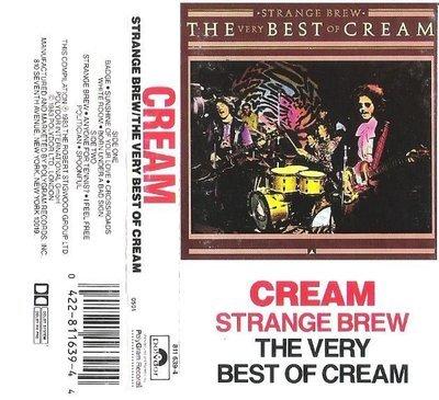 Cream / Strange Brew - The Very Best of Cream / Polydor 811 639-4 | Cassette (1983)