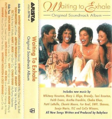 Various Artists / Waiting To Exhale (Soundtrack) / Arista 18796-4 | Cassette (1995)
