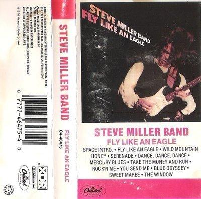 Miller, Steve (Band) / Fly Like An Eagle / Capitol C4-46475 | Cassette (1976)