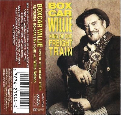 Boxcar Willie / King of the Freight Train / MCA Special Products MCAC-20544 | Cassette (1989)