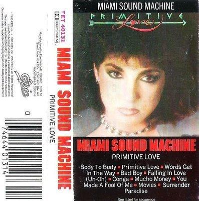 Miami Sound Machine / Primitive Love / Epic FET-40131 | Cassette (1985)