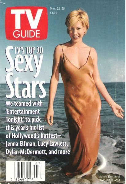 TV Guide / Jenna Elfman / TV's Top 20 Sexy Stars / November 22, 1997 | Magazine