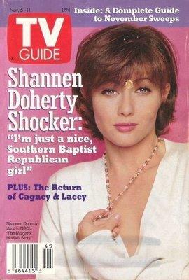 TV Guide / Shannen Doherty Shocker / November 5, 1994 | Magazine