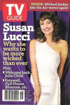 TV Guide / Susan Lucci - Why She Wants to be More Wicked Than Ever / April 22, 1995 | Magazine