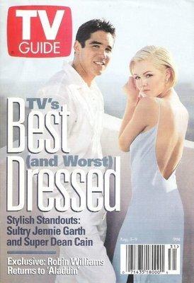 TV Guide / Jennie Garth + Dean Cain - Best Dressed / August 3 | Magazine (1996)