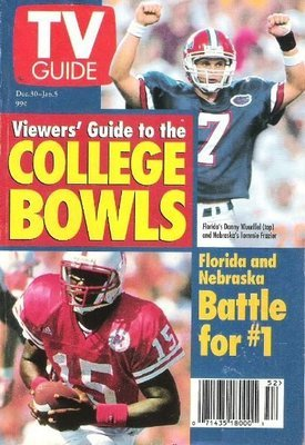 TV Guide / Viewer's Guide to the College Bowls / December 30, 1995 | Magazine