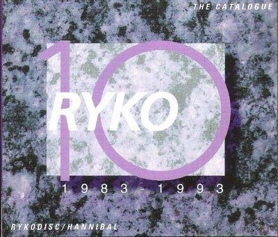 Ryko / Rykodisc-Hannibal / The Catalogue 1983-1993 | Catalog (1993)