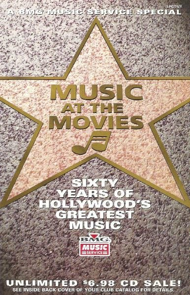 BMG Music Service / Music At The Movies | Catalog (1994)