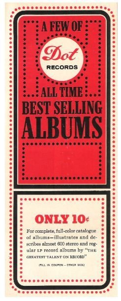 Dot Records / All Time Best Selling Albums | Catalog (1965)
