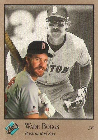 Boggs, Wade / Boston Red Sox / Studio No. 131 | Baseball Trading Card (1992) / Hall of Famer
