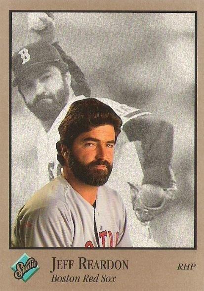 Reardon, Jeff / Boston Red Sox / Studio No. 137 | Baseball Trading Card (1992)