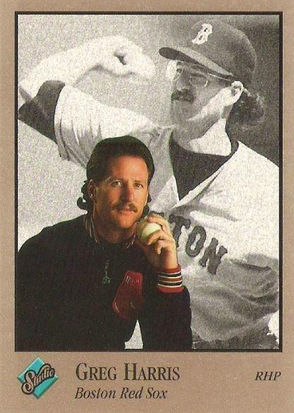 Harris, Greg / Boston Red Sox / Studio No. 133 | Baseball Trading Card (1992)