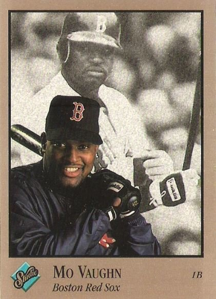 Vaughn, Mo / Boston Red Sox / Studio No. 139 | Baseball Trading Card (1992)