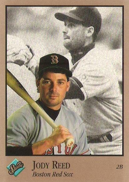 Reed, Jody / Boston Red Sox / Studio No. 138 | Baseball Trading Card (1992)