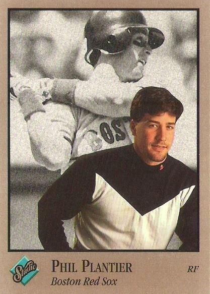 Plantier, Phil / Boston Red Sox / Studio No. 136 | Baseball Trading Card (1992)