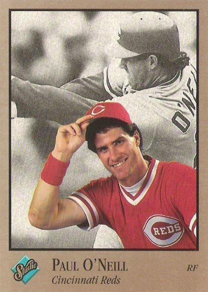 O'Neill, Paul / Cincinnati Reds / Studio No. 25 | Baseball Trading Card (1992)