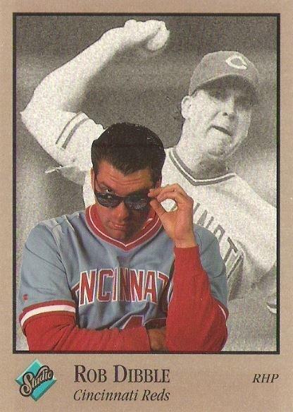 Dibble, Rob / Cincinnati Reds / Studio No. 22   Baseball Trading Card (1992)