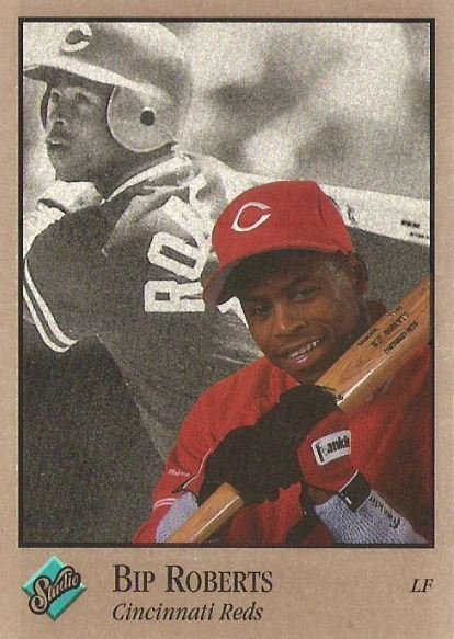 Roberts, Bip / Cincinnati Reds / Studio No. 27 | Baseball Trading Card (1992)