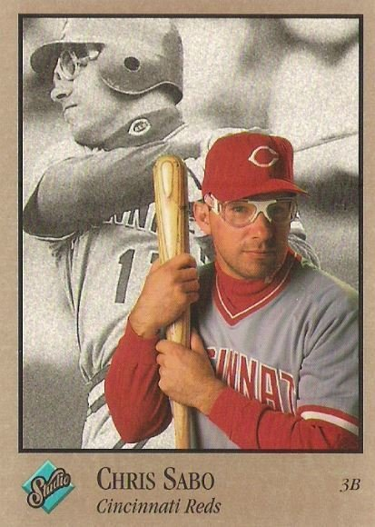 Sabo, Chris / Cincinnati Reds / Studio No. 28 | Baseball Trading Card (1992)