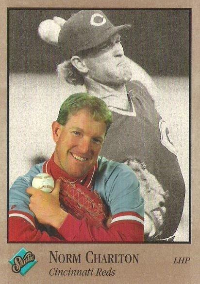 Charlton, Norm / Cincinnati Reds / Studio No. 21 | Baseball Trading Card (1992)