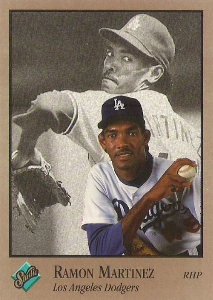 Martinez, Ramon / Los Angeles Dodgers / Studio No. 46 | Baseball Trading Card (1992)