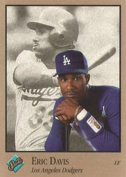 Davis, Eric / Los Angeles Dodgers / Studio No. 43 | Baseball Trading Card (1992)
