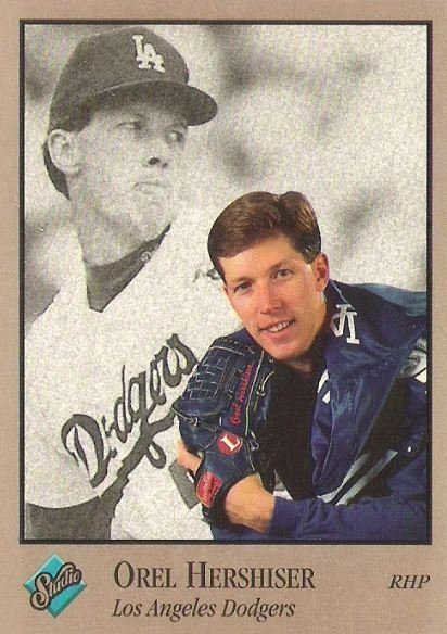 Hershiser, Orel / Los Angeles Dodgers / Studio No. 44 | Baseball Trading Card (1992)