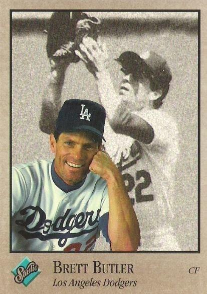 Butler, Brett / Los Angeles Dodgers / Studio No. 41 | Baseball Trading Card (1992)