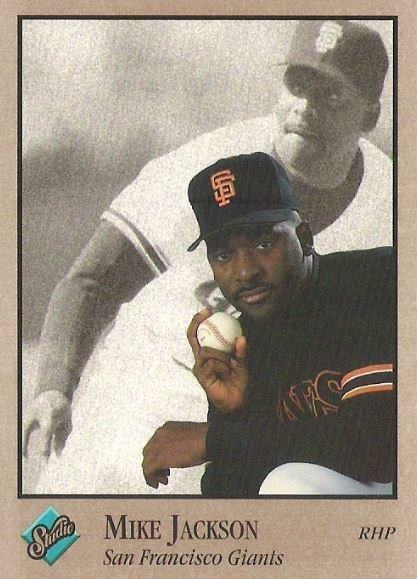 Jackson, Mike / San Francisco Giants / Studio No. 116 | Baseball Trading Card (1992)