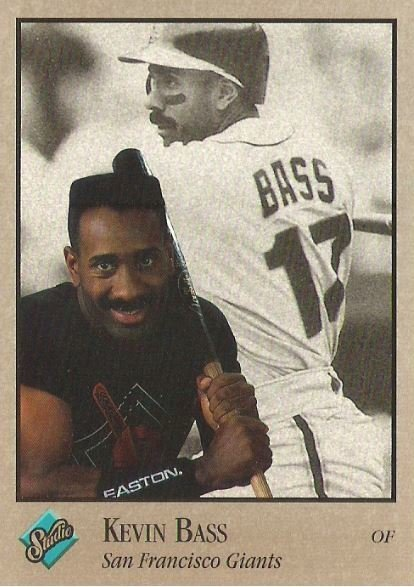 Bass, Kevin / San Francisco Giants / Studio No. 111 | Baseball Trading Card (1992)