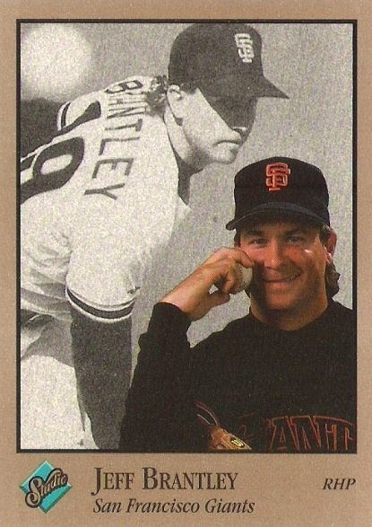 Brantley, Jeff / San Francisco Giants / Studio No. 112 | Baseball Trading Card (1992)
