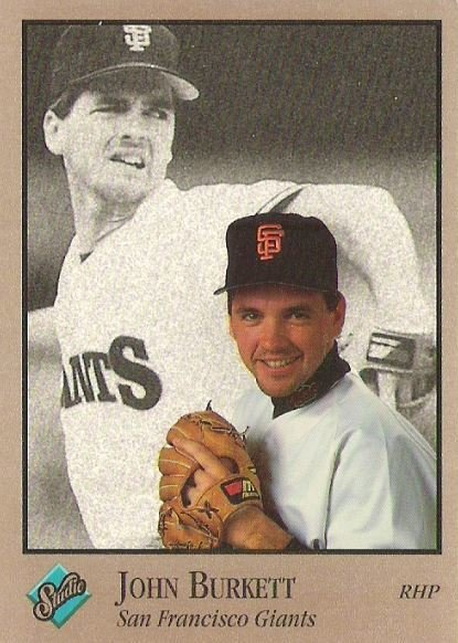 Burkett, John / San Francisco Giants / Studio No. 113 | Baseball Trading Card (1992)