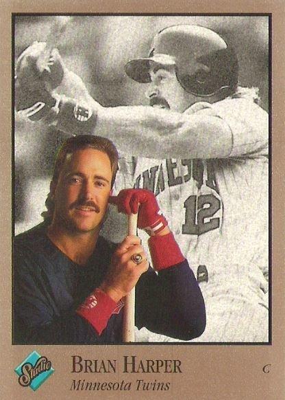 Harper, Brian / Minnesota Twins / Studio No. 204 | Baseball Trading Card (1992)