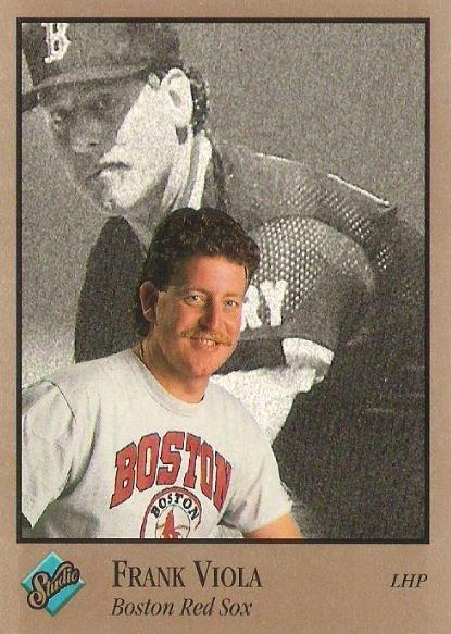 Viola, Frank / Boston Red Sox / Studio No. 140 | Baseball Trading Card (1992)