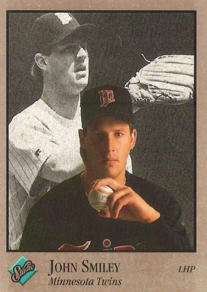 Smiley, John / Minnesota Twins / Studio No. 210 | Baseball Trading Card (1992)