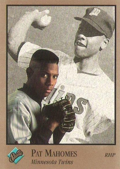 Mahomes, Pat / Minnesota Twins / Studio No. 208 | Baseball Trading Card (1992)