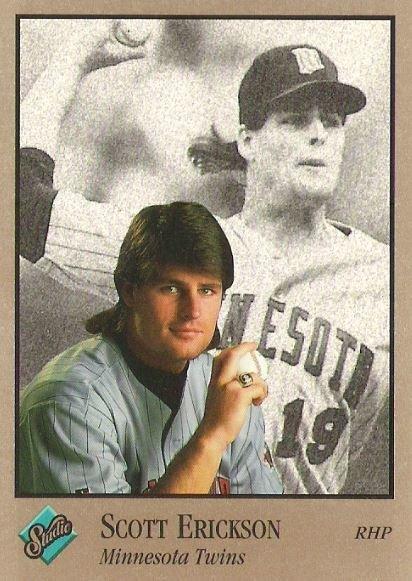 Erickson, Scott / Minnesota Twins / Studio No. 202 | Baseball Trading Card (1992)