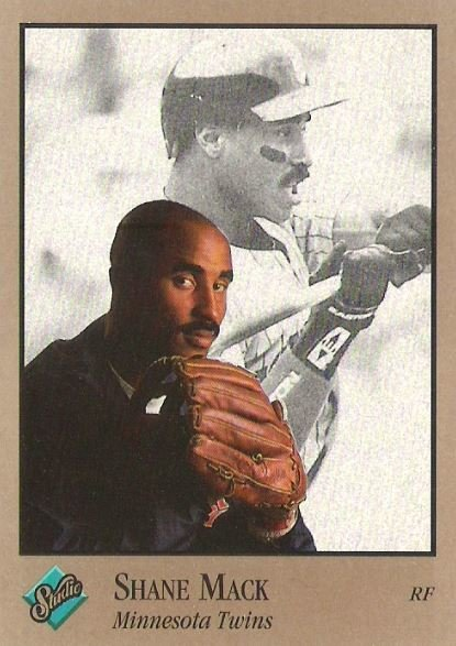 Mack, Shane / Minnesota Twins / Studio No. 207 | Baseball Trading Card (1992)