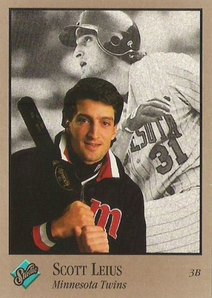 Leius, Scott / Minnesota Twins / Studio No. 206 | Baseball Trading Card (1992)